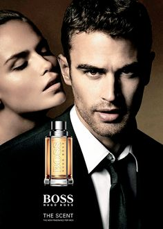 Hugo Boss Theo James