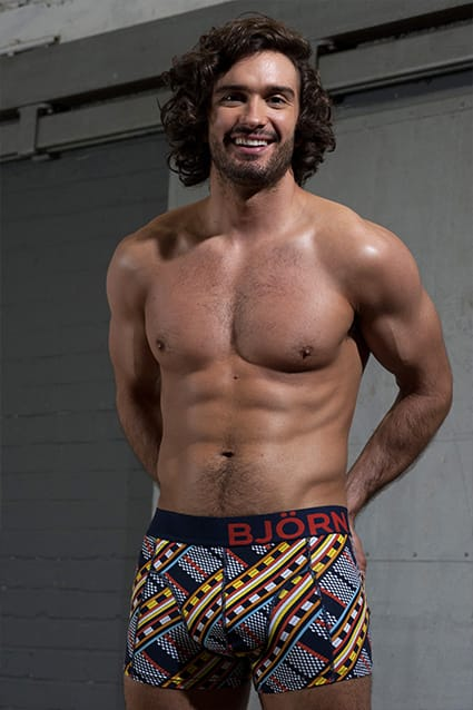 Bjorn Borg underwear & Bjorn Borg Boxers Worn by Body Coach Joe Wicks | UnderU