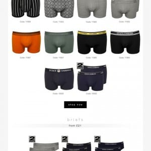 Dolce Gabbana Underwear SS16