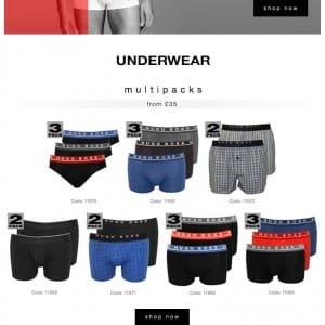 Hugo Boss Underwear SS16 Blog