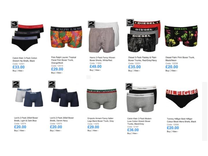 Men's Underwear Styles | UnderU