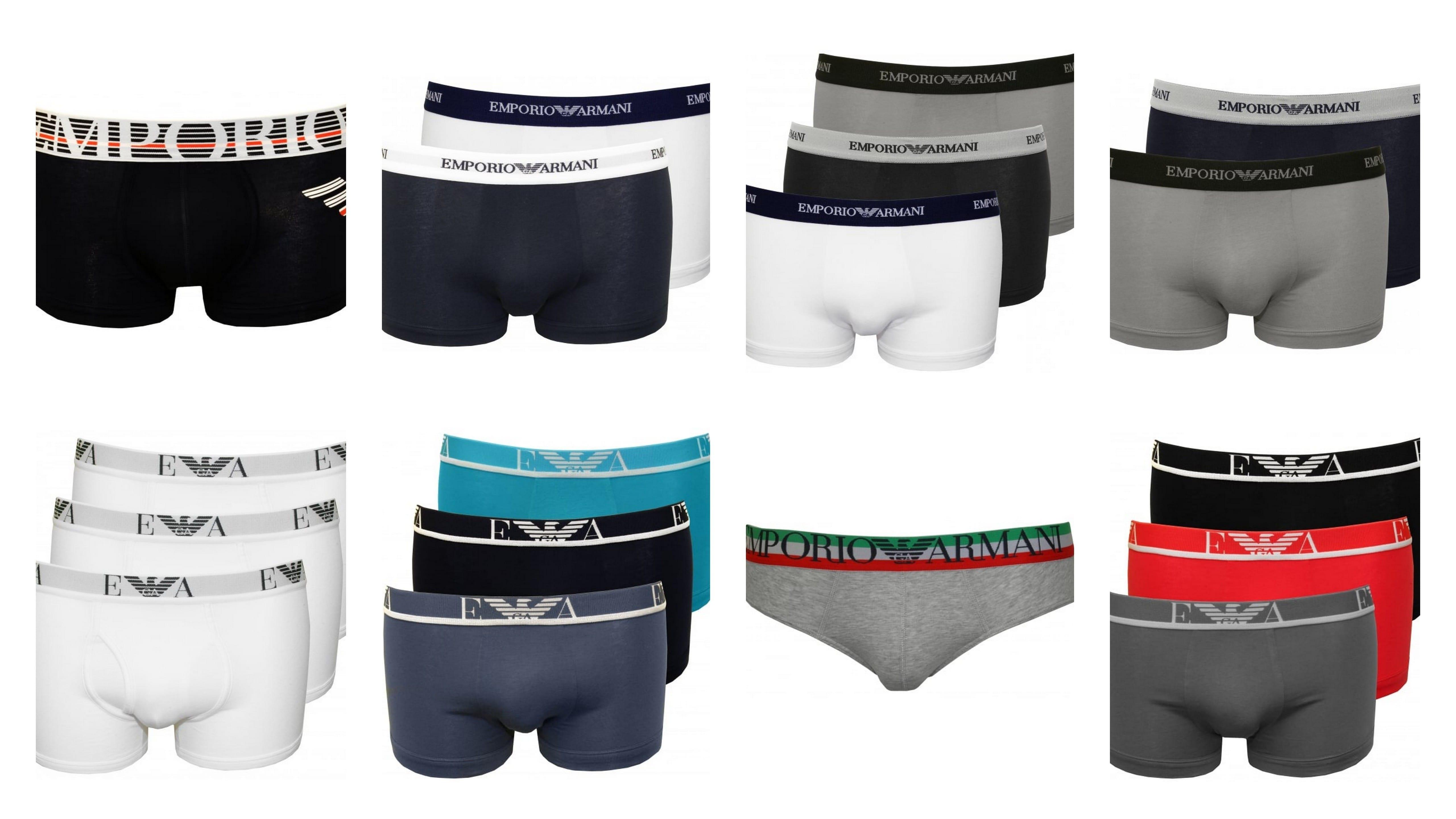 Emporio Armani Underwear For Men | UnderU