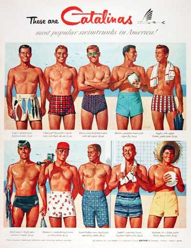 5905ea956ff9c 1950s Mens Swimwear   Men s Swim Briefs