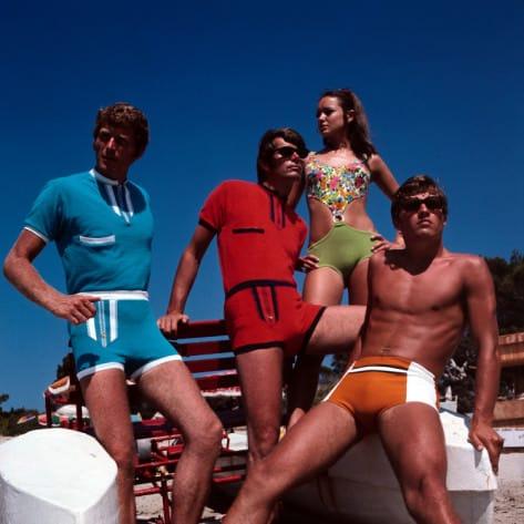 1970s Mens Swimwear & Men's Swim Trunks | UnderU