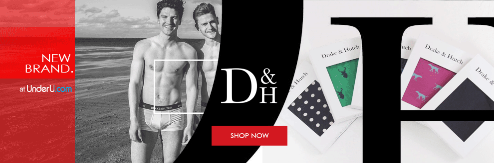 Drake & Hutch Underwear Collection SS16 | UnderU