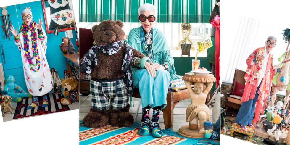 Iris Apfel & Happy Socks | UnderU