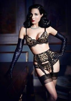 Dita Von Teese | Top 10 Sexiest Underwear Models | UnderU