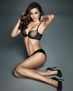 Miranda Kerr | Top 10 Sexiest Female Underwear Models | UnderU