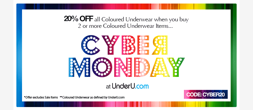 cyber monday men's underwear sale