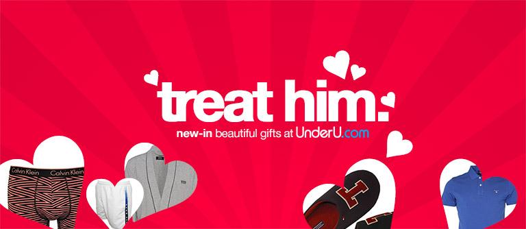 valentines day men's underwear
