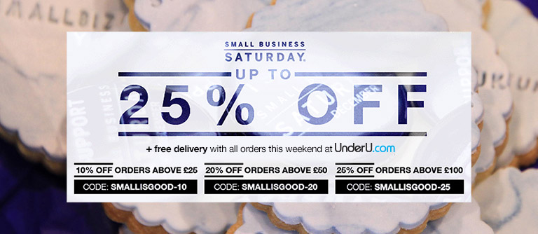 Men's Underwear and Small Business Saturday