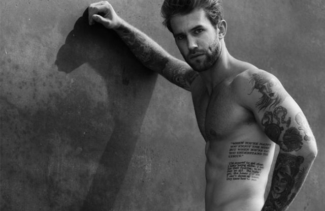Andre Hamann Underwear Model