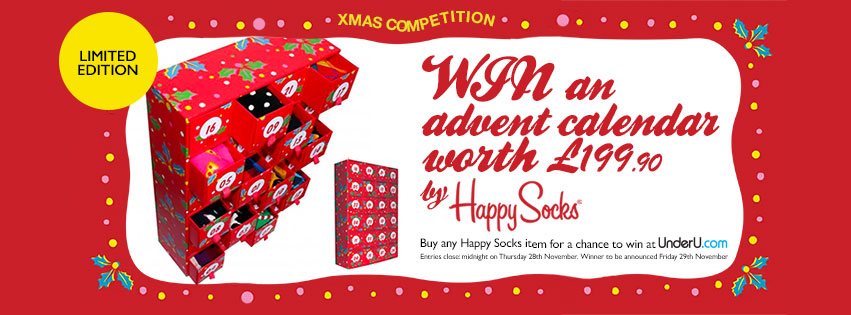 Happy Socks Advent Calendar