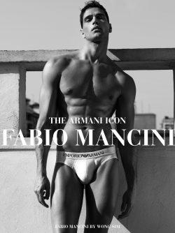 Fabio Mancini | Sexiest Male Underwear Models | UnderU