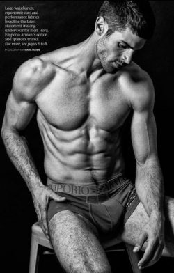 Chad White | Sexiest Male Underwear Models | UnderU