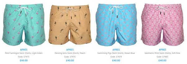 Spring/Summer 2021 Apres Swim Shorts Collection