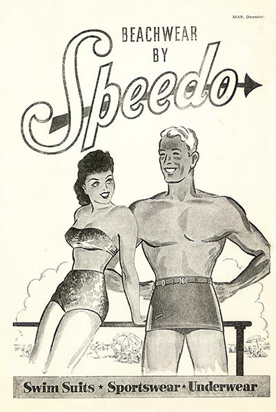 Speedo Swim Shorts Poster