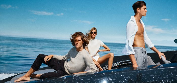 A picture taken from the Joop! Summer 2021 campaign