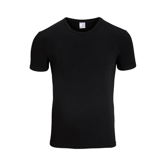 Bjorn Borg 2-Pack Crew-Neck Cotton Stretch T-Shirts, Black