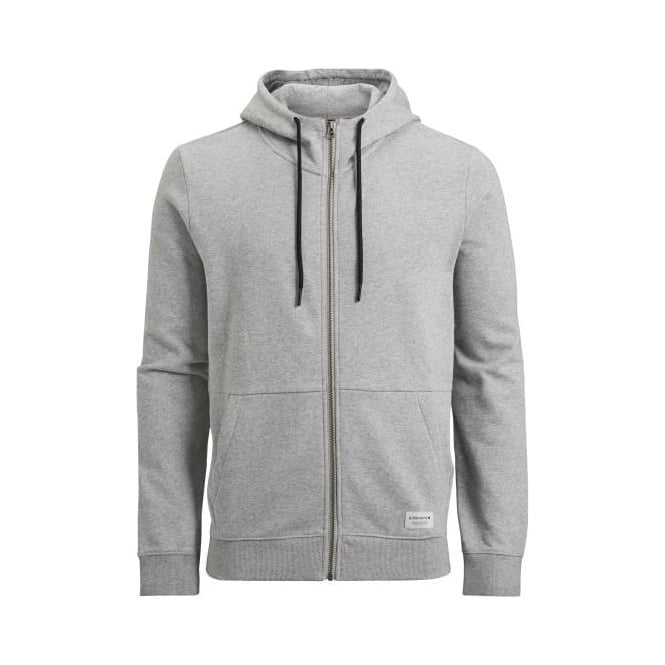Bjorn Borg Brushed Cotton Tracksuit Hoodie, Light Grey Melange
