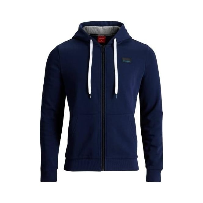 Bjorn Borg Brushed Cotton Tracksuit Hoodie, Navy Blue