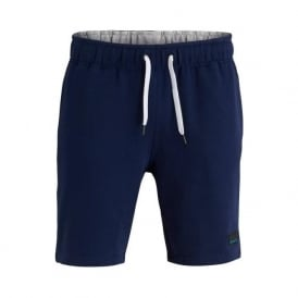 Brushed Cotton Tracksuit Shorts, Navy