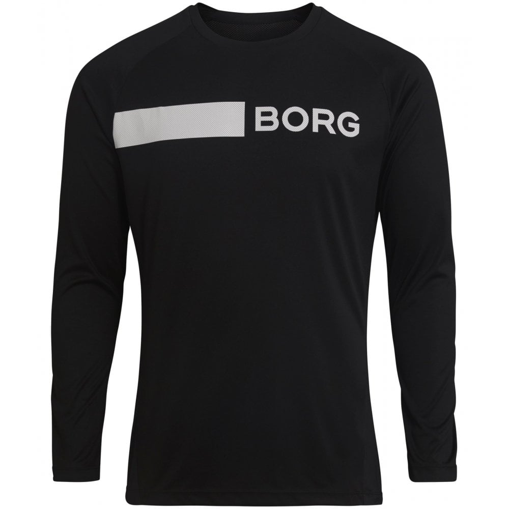 fcb523ed Bjorn Borg Hydro Pro Active Training T-Shirt, Black | BUnderU