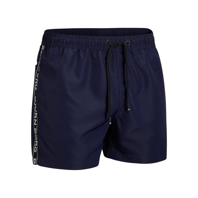 Bjorn Borg Iconic Logo Tape Swim Shorts, Navy