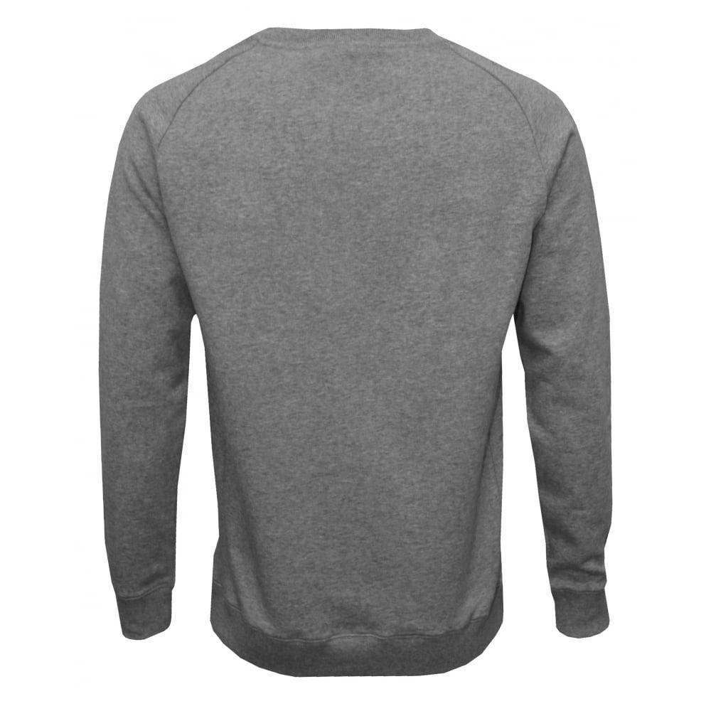 595943afaed8 Bjorn Borg Jersey Cotton Sweatshirt, Light Grey Melange | UnderU