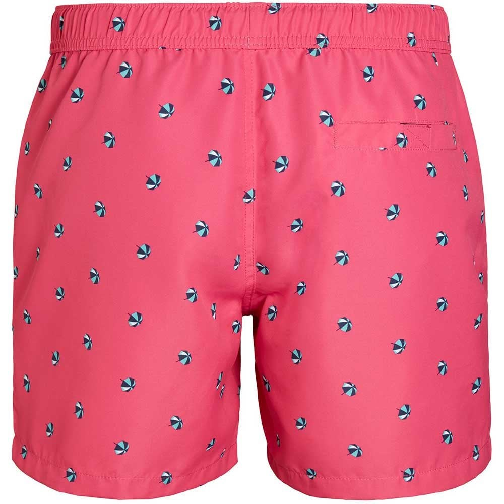 Beetroot Purple Bjorn Borg Mini Parosols Print Men/'s Swim Shorts