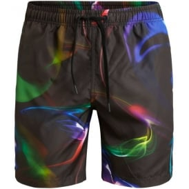 Northern Lights Smokin' Swim Shorts, Black