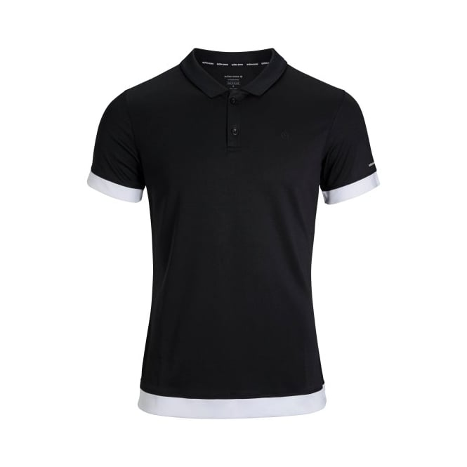 Bjorn Borg Pique Hydro Pro Active Polo Shirt, Black