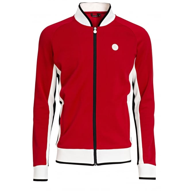 Bjorn Borg Signature '72 Track Jacket, Racing Red