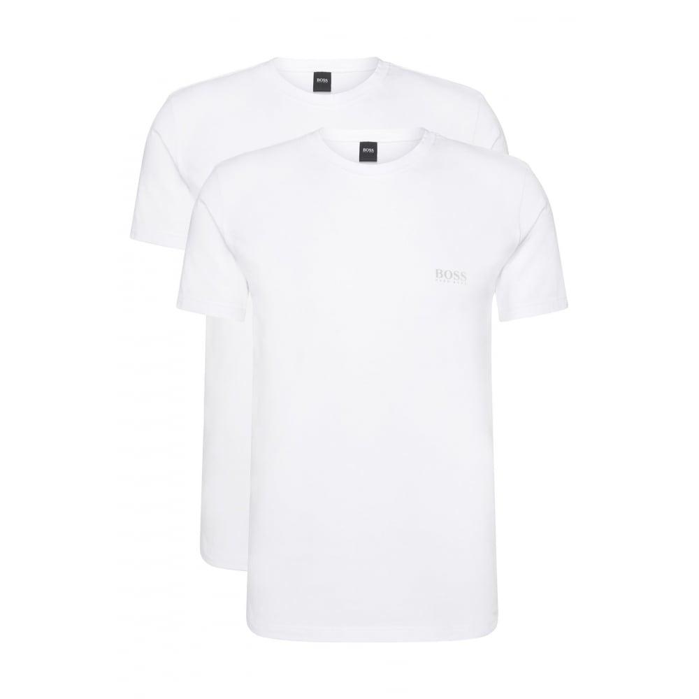 3be650fbaf4 Hugo Boss 2-Pack Regular-Fit Crew-Neck T-Shirts Stretch Cotton ...