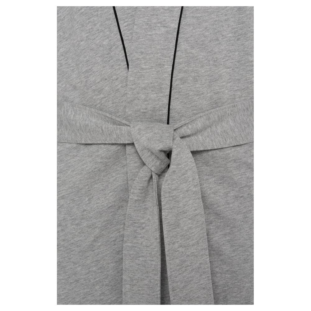 e1654610e7a64 Hugo Boss Kimono Jersey Cotton Dressing Gown, Grey | UnderU