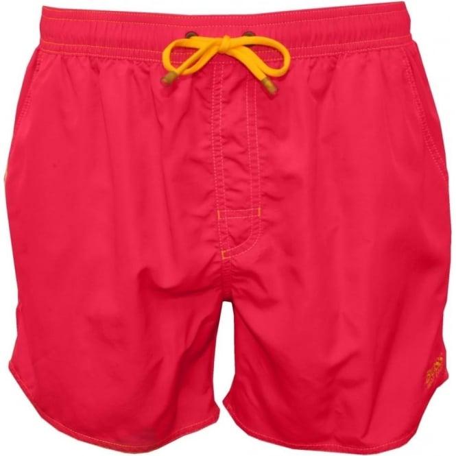 56132b00639bc Hugo Boss Lobster Swim Shorts, Pink | UnderU