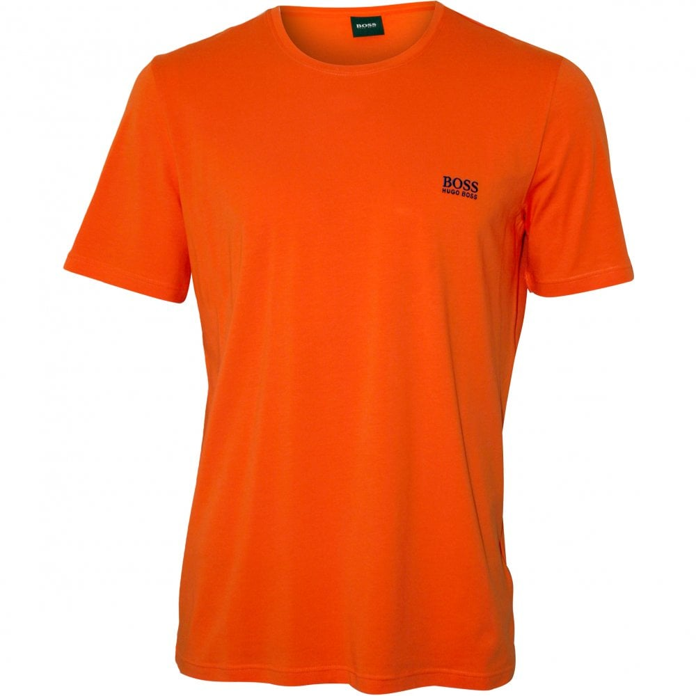 many choices of top-rated discount sale Luxe Jersey Crew-Neck T-Shirt, Orange