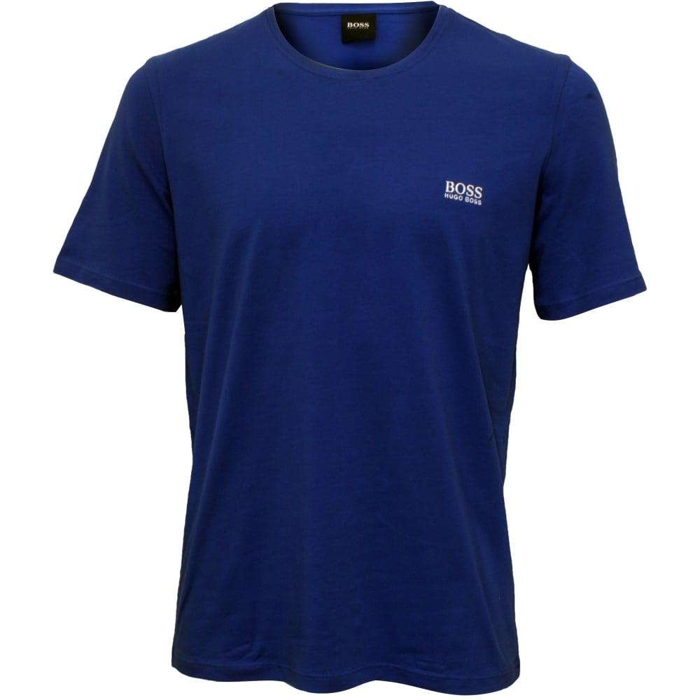 82576727d Royal Blue Crew-Neck T-Shirt   Hugo Boss Men's T-shirt White   UnderU