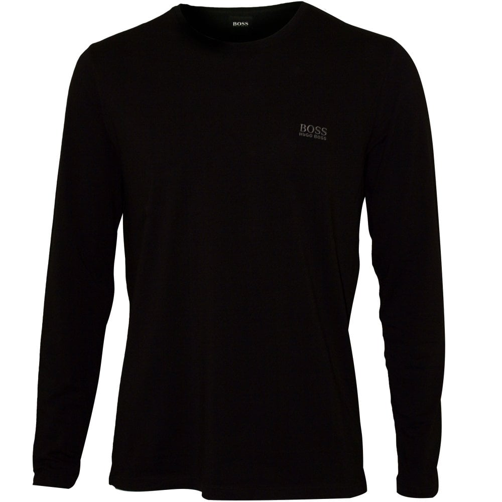 96c15abfa Black Crew-Neck T-Shirt | Hugo Boss Men's T-shirt Blue | UnderU
