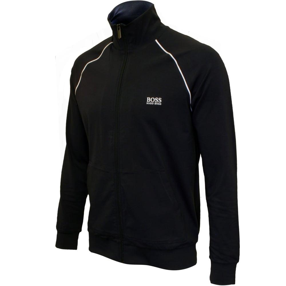 Hugo Boss Mix /& Match Zip-Thru Men/'s Tracksuit Jacket Navy//white