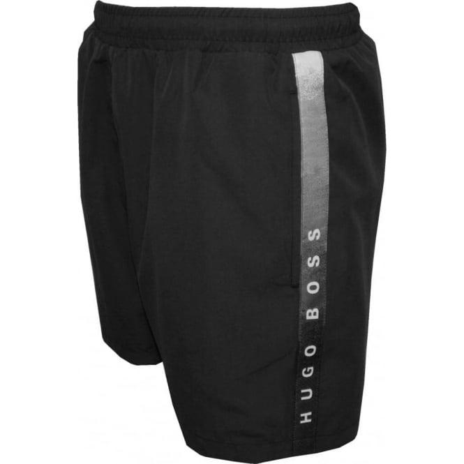 f7af614524dbe Hugo Boss Seabream Swim Shorts, Black | UnderU