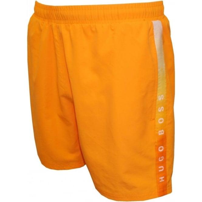 47a01328 Hugo Boss Seabream Swim Shorts, Orange | UnderU