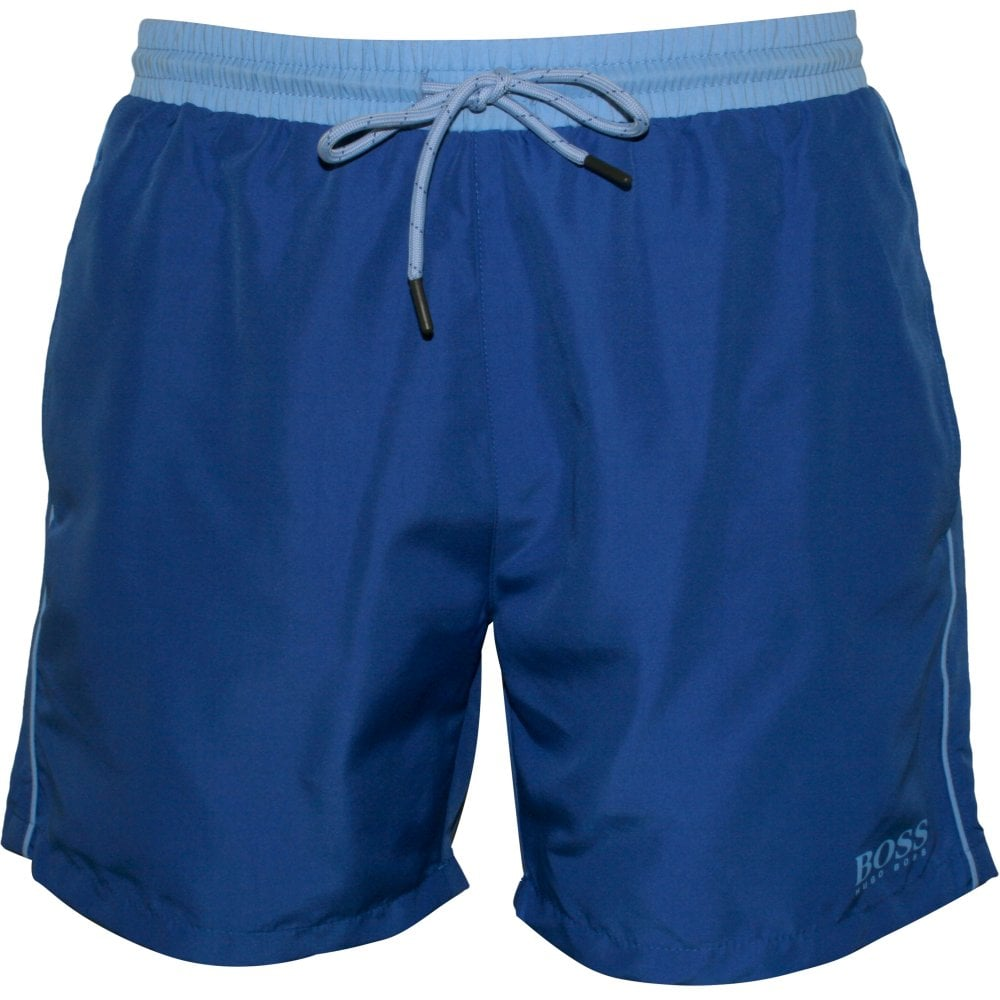 8e2a6514 Hugo Boss Starfish Swim Shorts Ocean Blue | BOSS by Hugo Boss | UnderU