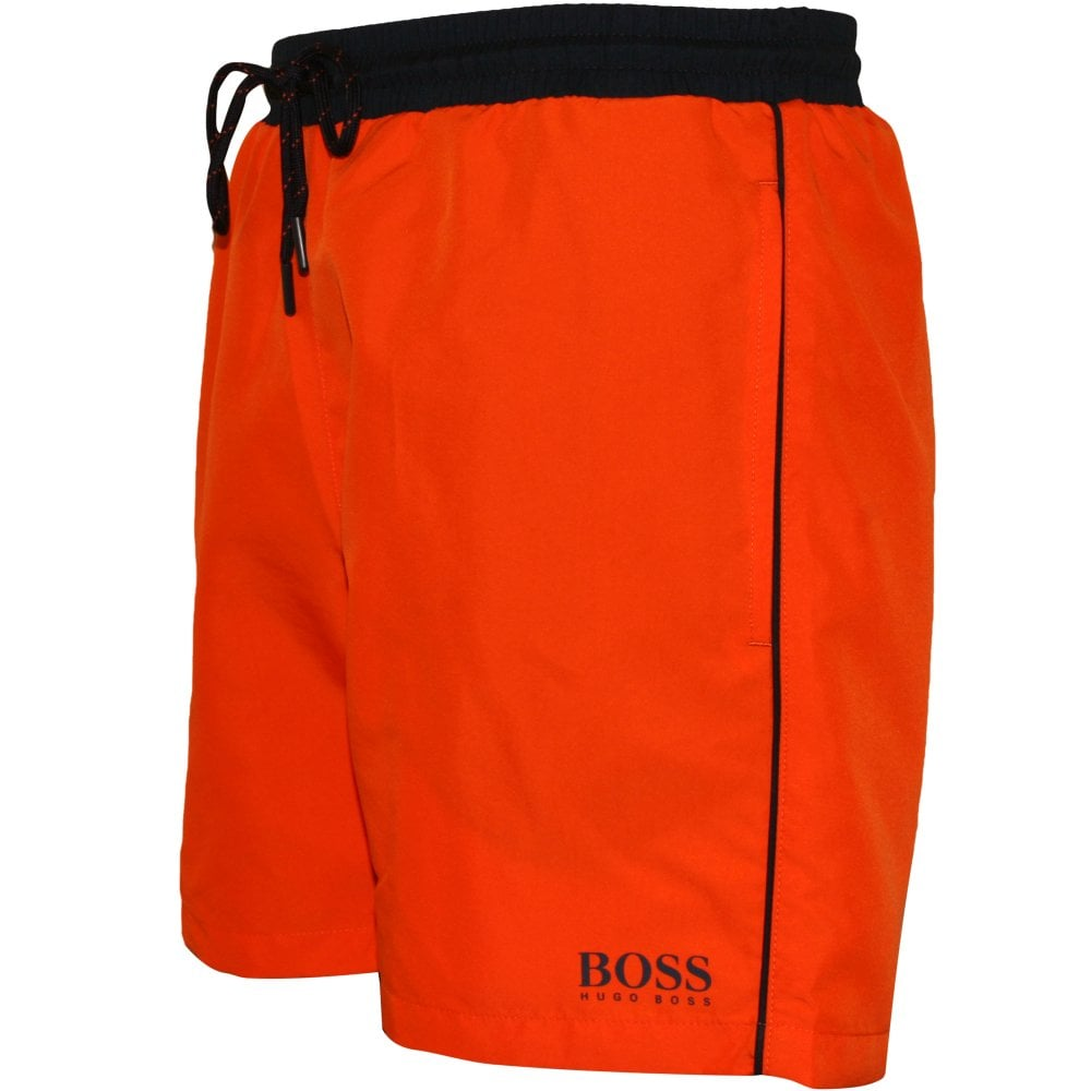 4c9a3baf4 Hugo Boss Starfish Swim Shorts, Orange | BOSS by Hugo Boss | UnderU