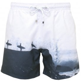 95fbc0f6b31f7 BOSS Swimwear | Men's BOSS Hugo Boss Swim Shorts | UnderU