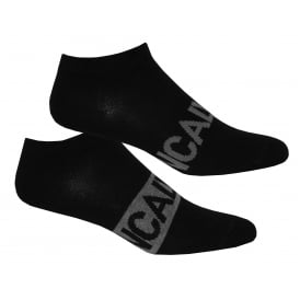 2-Pack Intense Power Trainer Socks, Black/grey