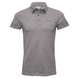 Beach Polo Shirt, Heather Grey
