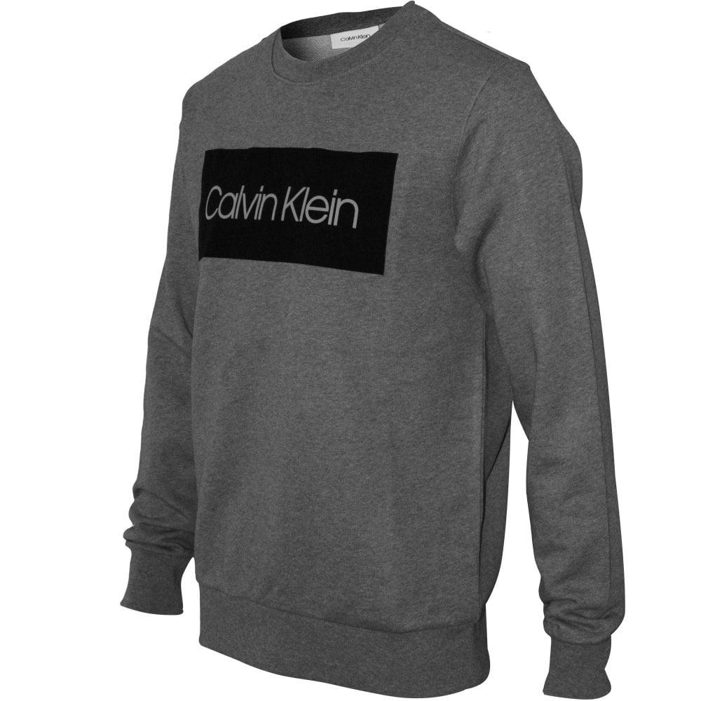 Calvin Klein Block Logo Crew Neck Men's