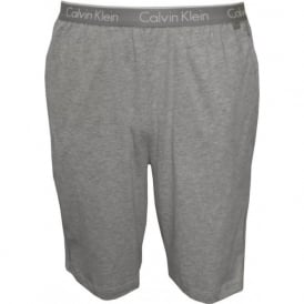 CK One Cotton Jersey Lounge Shorts, Grey Heather