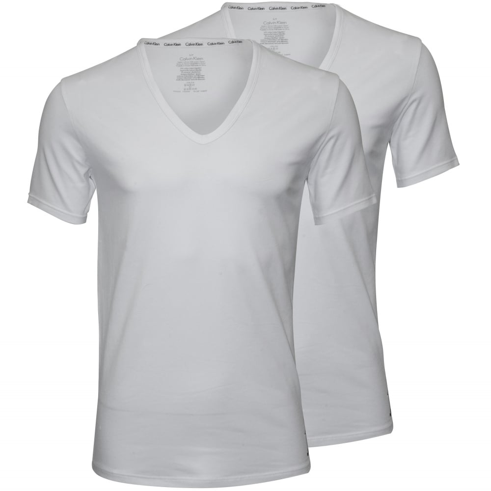 1069cb3e769c ID 2-Pack Slim-Fit V-Neck T-Shirts